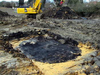 Infilled coal shaft - Coal Mining Risk Assessment